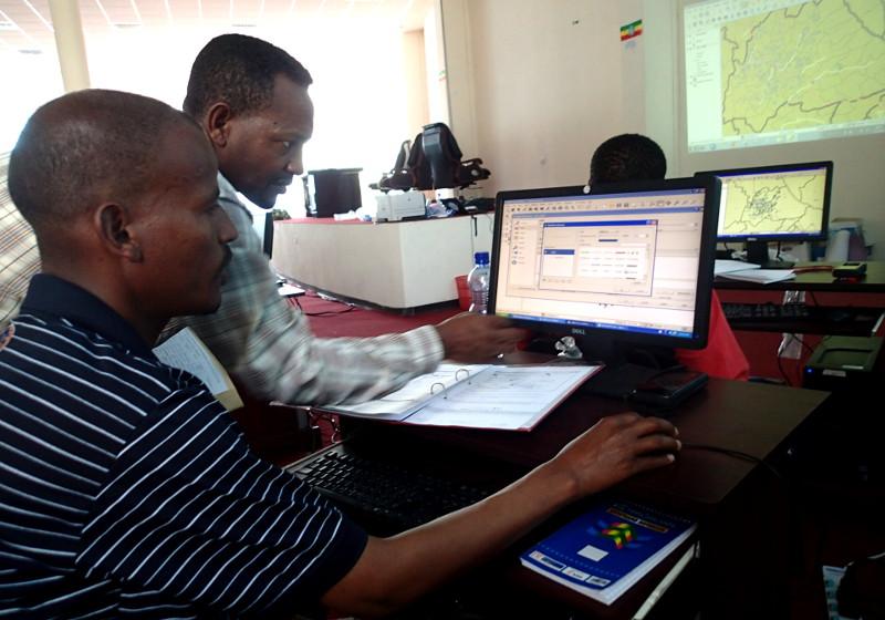 First COWASH M&E / GIS training held in Hawassa - CMP CoWASH